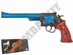 "UG133 BB Gun S&W M29 Revolver Replica Gas Airsoft Pistol Black & 2 Tone 8"" Barrel"